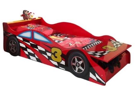 rood autobed LeenBakker