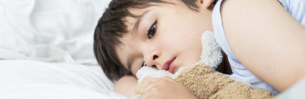 slapeloosheid bij kinderen